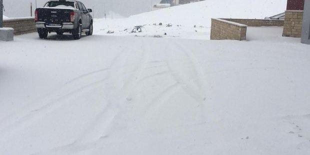 У Туреччині випав сніг (фото)