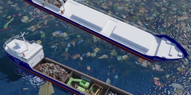 Українці з Миколаєва розробили плавучий сміттєпереробний завод, який почистить океани