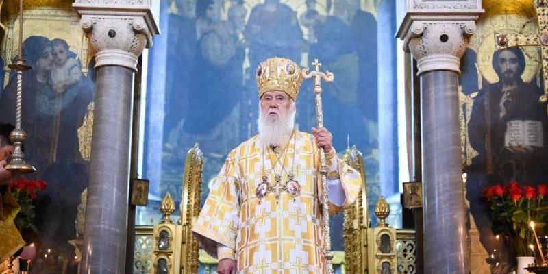 Філарет заявив, що предстоятель ПЦУ Епіфаній угодний Москві
