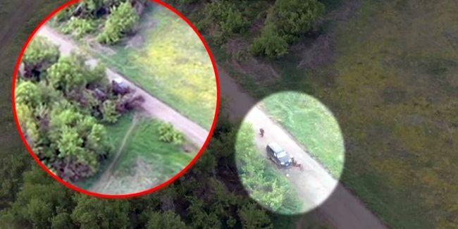 На Донбасі ліквідували російського офіцера (відео)