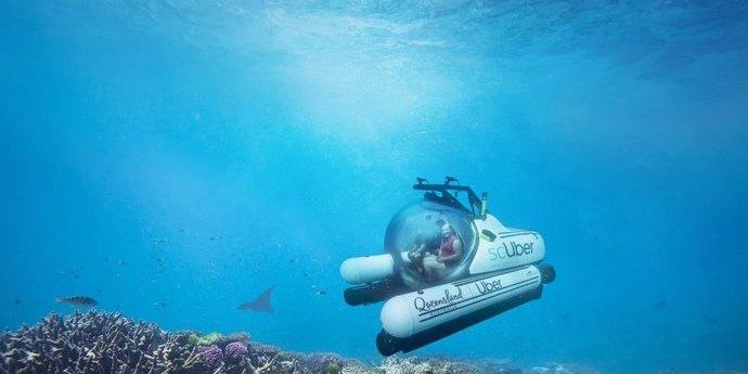 Uber запустить підводний човен для вивчення Великого бар'єрного рифу в Австралії