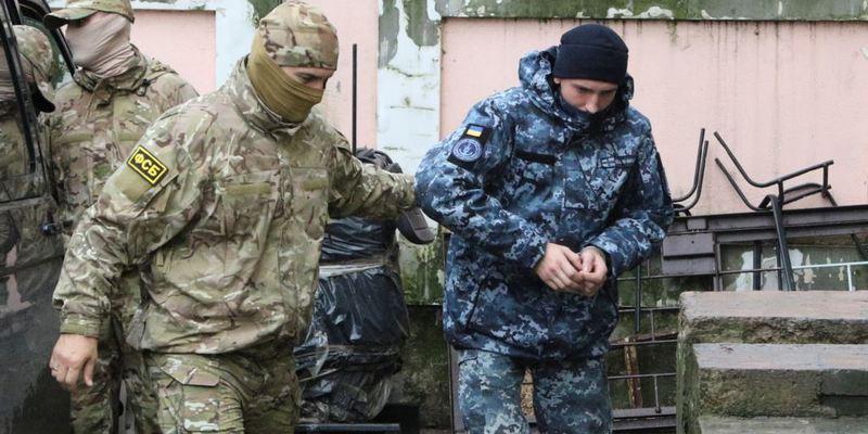 Росія не планує звільняти полонених українських моряків