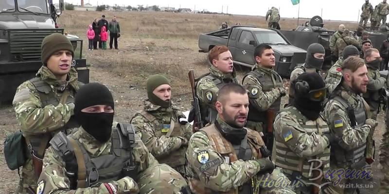 «Азов» опублікував відео знищення ДЗОТу бойовиків (відео)