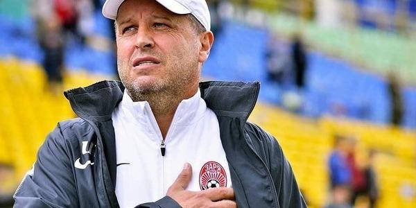 Вернидуб більше не головний тренер «Зорі»