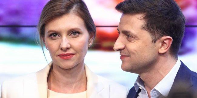 Володимир Зеленський разом з дружиною прийшов на концерт MONATIK'а на НСК «Олімпійський»