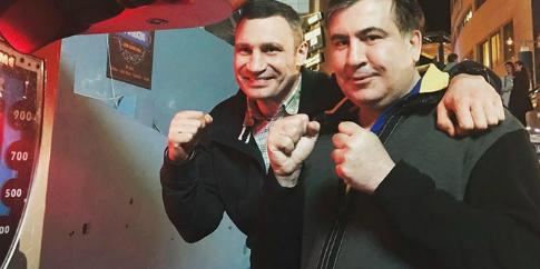 Кличко запропонував Саакашвілі пост глави «Удару»