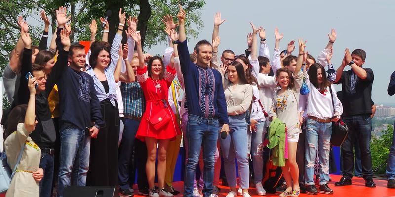 Буде «драйв і рок-н-рол»: Вакарчук про з'їзд партії «Голос» на Старокиївській горі