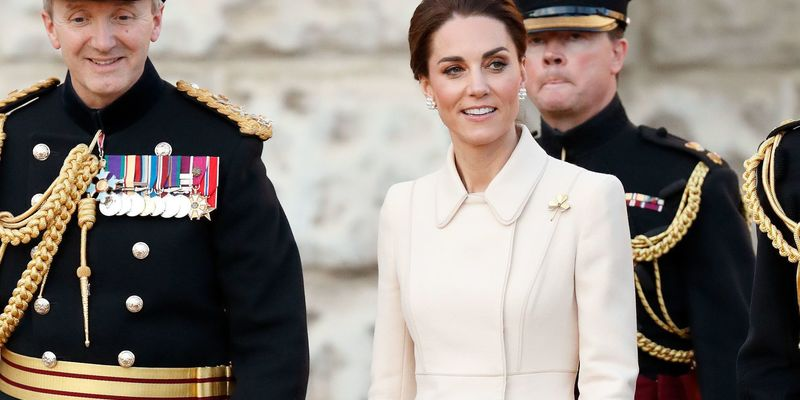 Кейт Міддлтон вперше прийняла парад кінної гвардії