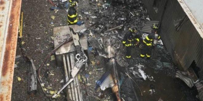 У Нью-Йорку гелікоптер здійснив аварійну посадку на хмарочосі, пілот загинув