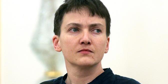 Героїня фільму «Леон»: Савченко прийшла на ефір у незвичайному наряді