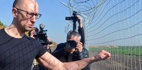 Справа «стіни Яценюка» розглядатиметься у Дарницькому суді