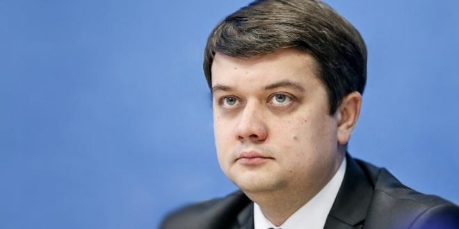 Разумков сказав, коли буде говорити українською
