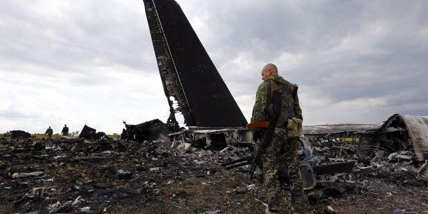 В СБУ назвали імена російських військових, які збили літак Іл-76 під Луганськом у 2014 році