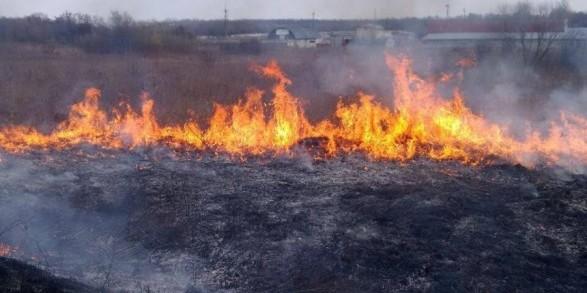 Найвищий рівень пожежної небезпеки утримається в Україні