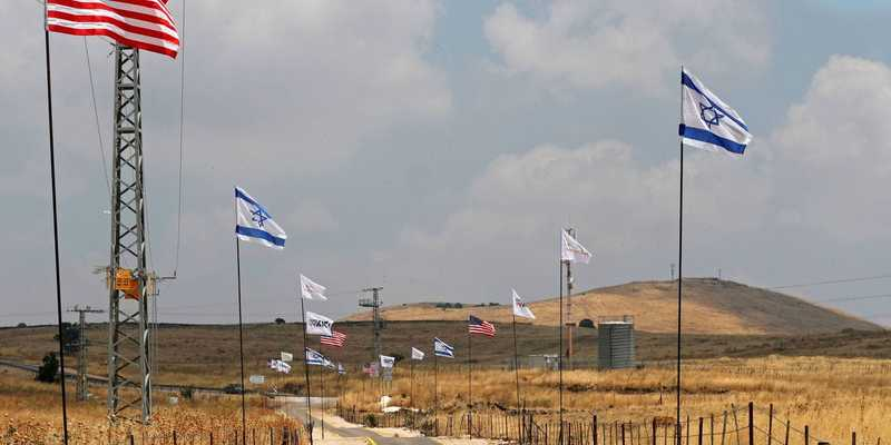 В Ізраїлі назвали ім'ям Трампа місто на Голанах