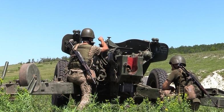 ООС: Бойовики били з мінометів, БМП і гранатометів, 1 поранений
