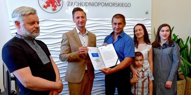 У Польщі нагородили українця, що рятував людей під час масштабної ДТП