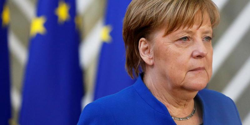 Меркель на зустрічі із Зеленським стало погано (відео)