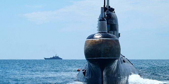 Росія утилізує український підводний човен, захоплений під час анексії Криму