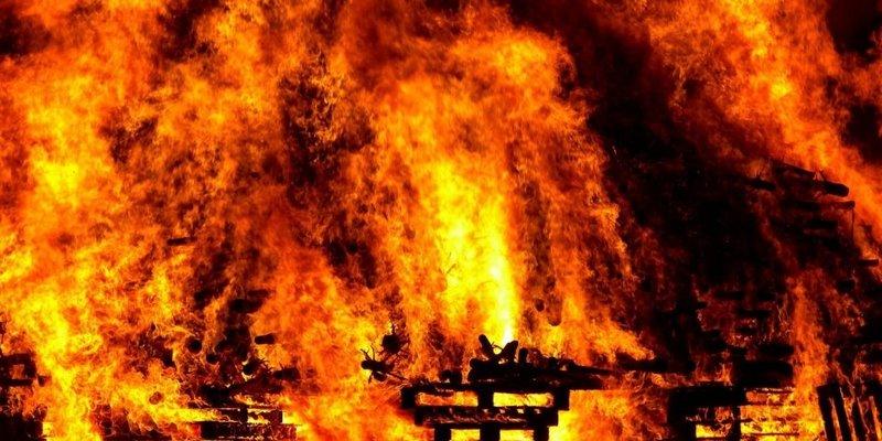 В Одеській області в результаті пожежі загинули четверо діток