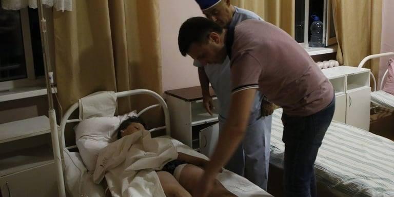 Вибух на дитячому майданчику: шестеро постраждалих опинились в лікарні (фото)