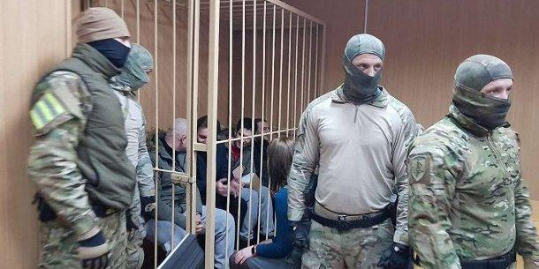 У Росії висунули остаточне звинувачення 18 із 24 українських моряків