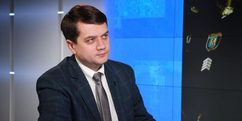 Разумков пообіцяв захищати і розвивати українську мову як державну (відео)