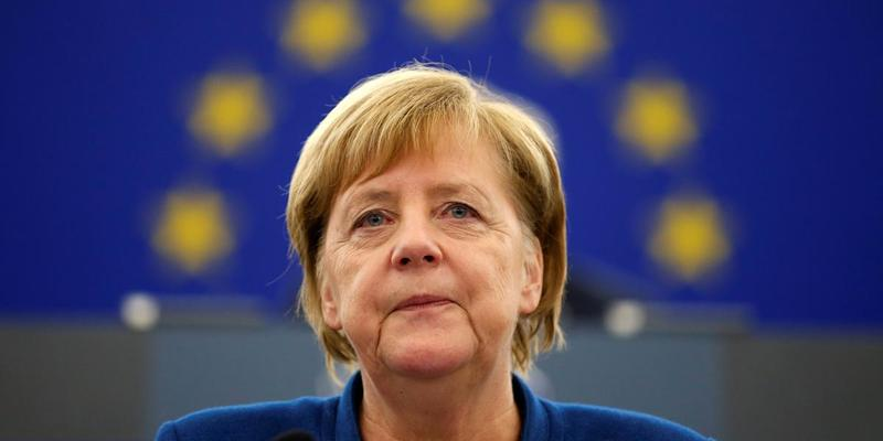 У Меркель стався новий напад на важливій зустрічі (відео)