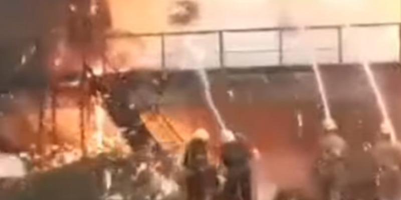На меткомбінаті у Маріуполі 2 тисячі тонн розтопленого чавуну вилилося у цех