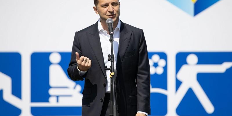 Зеленський забажав провести в Україні Олімпіаду