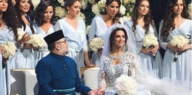 Не минуло й року: екскороль Малайзії розлучається з росіянкою Оксаною Воєводіною