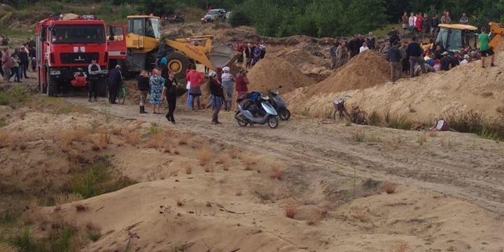 Пошуки дитини на Рівненщині: хлопчика знайшли загиблим (фото)
