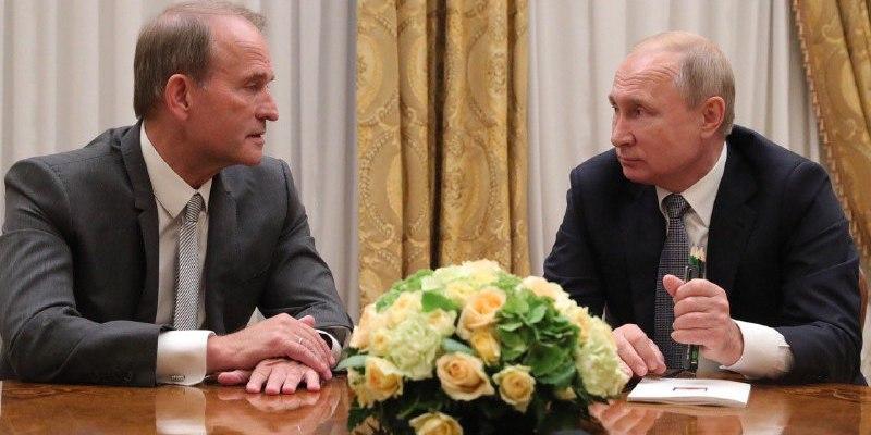 Путін подякував Медведчуку за зусилля зі звільнення полонених