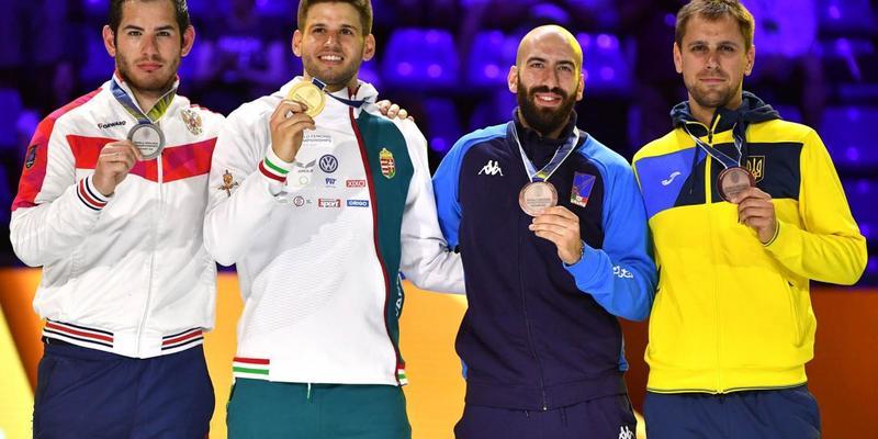 Українець став призером чемпіонату світу з фехтування
