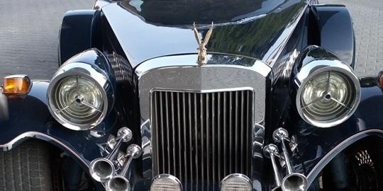 В Україні з'явився автомобіль з позолотою (фото)