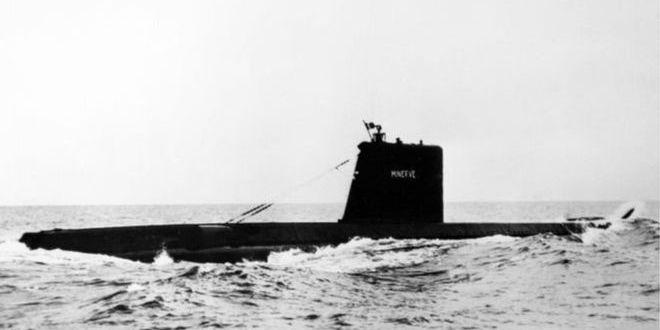 У Середземному морі знайшли підводний човен, який зник понад 50 років тому