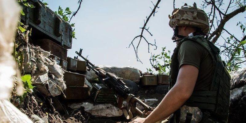 Бойовики на Донбасі 1 раз порушили перемир'я, один український військовий дістав поранення