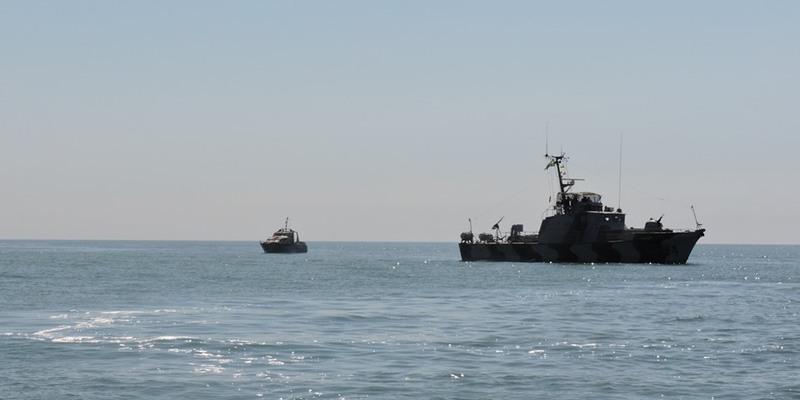 Берегова охорона ФСБ РФ влаштовує провокації в Азовському морі - штаб ООС