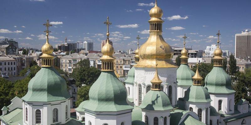 У Софії Київській пройшла літургія з нагоди хрещення Русі - України