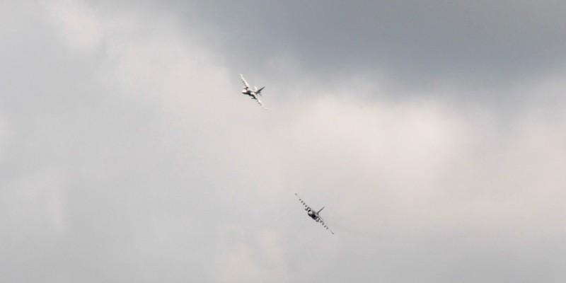 В ОС відбулось масштабне тренування з залученням сухопутних та авіаційних військ