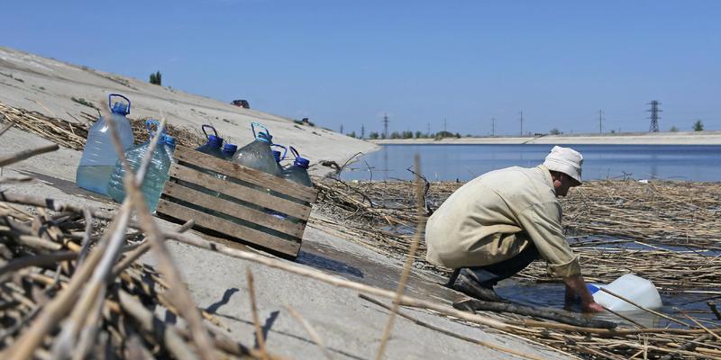 У Зеленського поставили крапку в питанні з поставками води в Крим