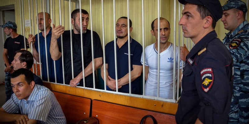 П'ятьох українців етапували з Росії в окупований Крим
