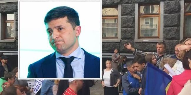 У Києві протестувальники штурмували Офіс президента: з'явилося відео