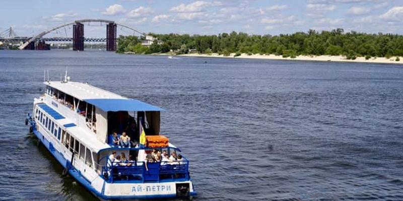У Києві відкриють річковий маршрут з Подолу на Оболонь