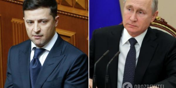 Зеленський закликав Путіна до термінових переговорів