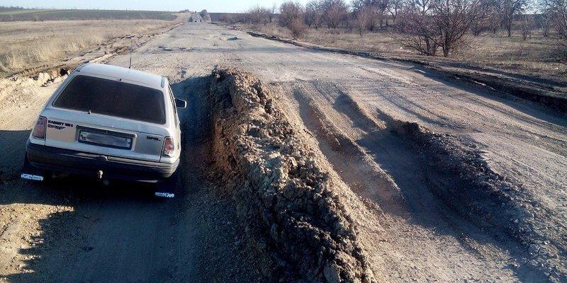 Розпочали ремонт найгіршої траси в Україні