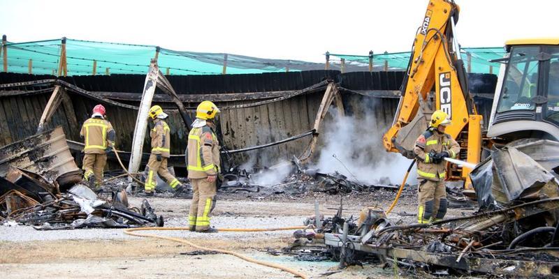 В результаті удару блискавки згоріли 40 будинків на колесах