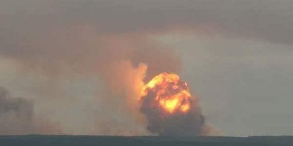 У Росії визнали перевищення радіаційного фону після вибуху біля Архангельська