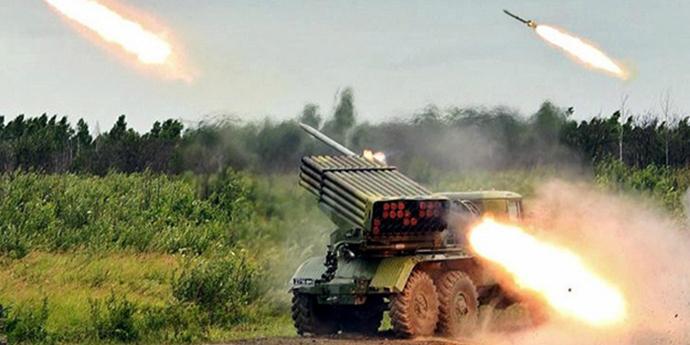 Окупанти на Донбасі розмістили десятки «Градів» поза лініями відведення