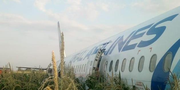 Аварійна посадка літака у Підмосков'ї: кількість потерпілих зросла до 23